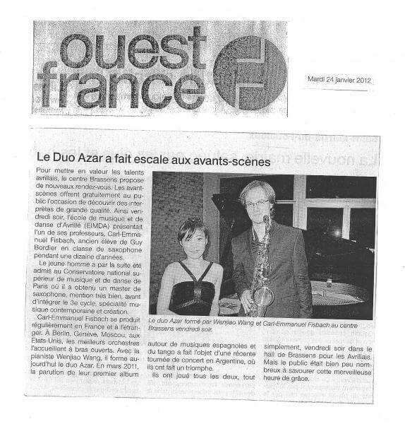 Preview of Ouest France