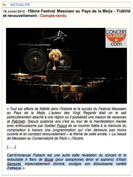Full image of Alain Cochard, www.concertclassic.com