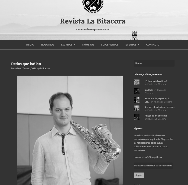 Preview of Revista La Bitacora, Lima, Peru