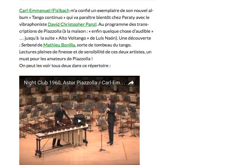 Full image of Thierry  Vagne, Musique classique & Co, http://vagnethierry.fr