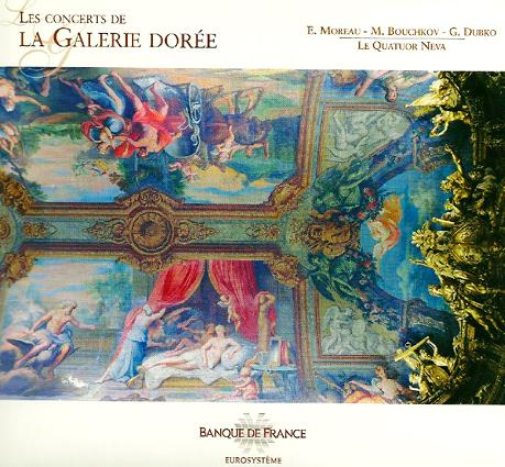 Cover of Neva Quartet (2010): Les concerts de la Galerie Dorée